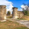 Entrance to Fort Rocky, Port Royal, Jamaica.